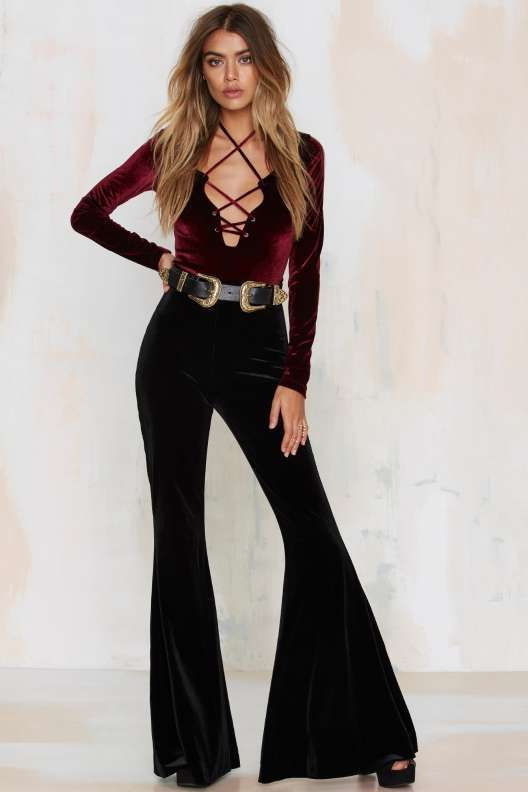 How To Wear Flared Pants (Outfit Ideas) 2018 ...