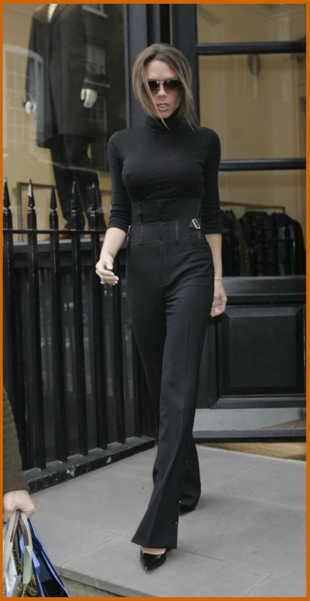 Women's Black Turtlenecks Outfit Ideas 2021
