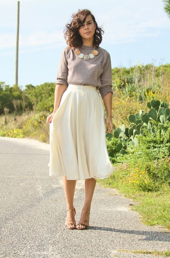 How To Wear High Waisted Skirts 2018 | FashionTasty.com