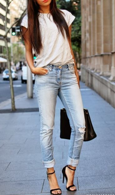 Women's Denim Pants Outfits 2021