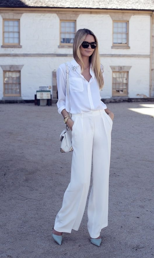 How To Wear White Pants 2019