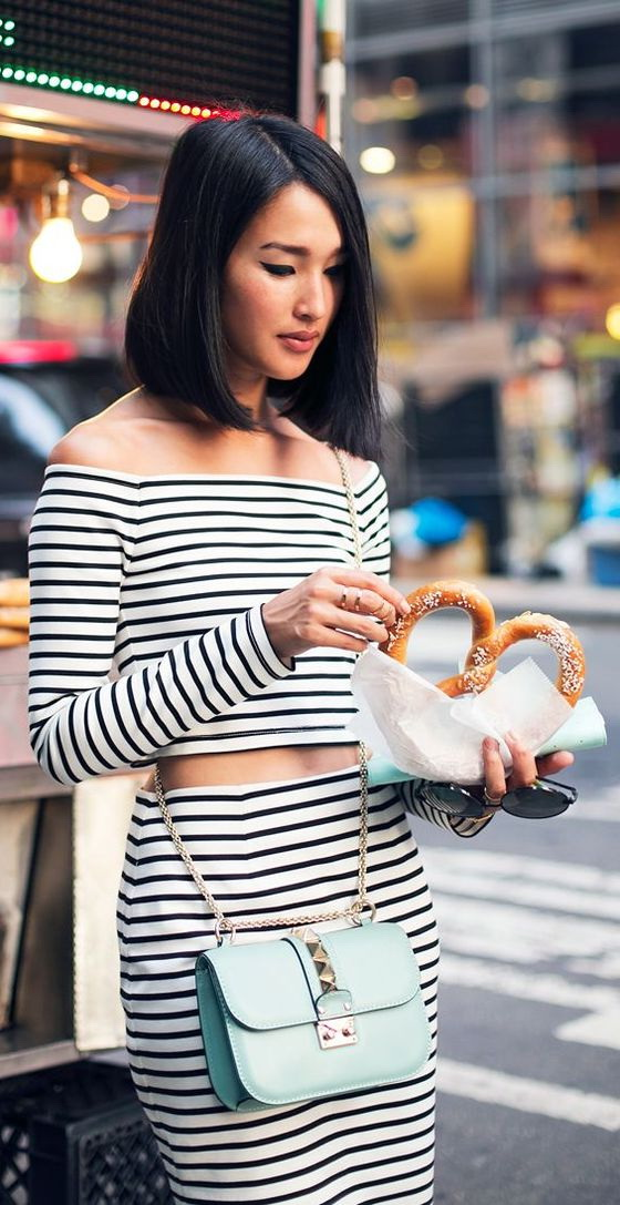Striped Top Outfits For Women 2019