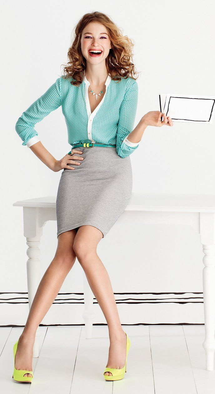 10 Super Sexy Work Outfits For Modern Women 2017