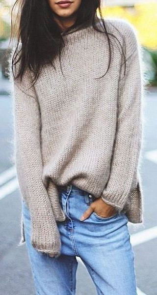 How To Wear A Slouchy Sweater 2020