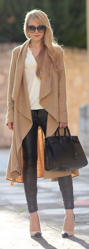 Women's Fall Coats And How To Wear Them 2017