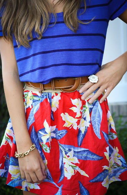 Printed Skirts Outfit Ideas 2019