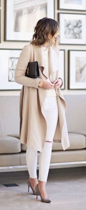 Women's Draped Coats And How To Wear Them 2021