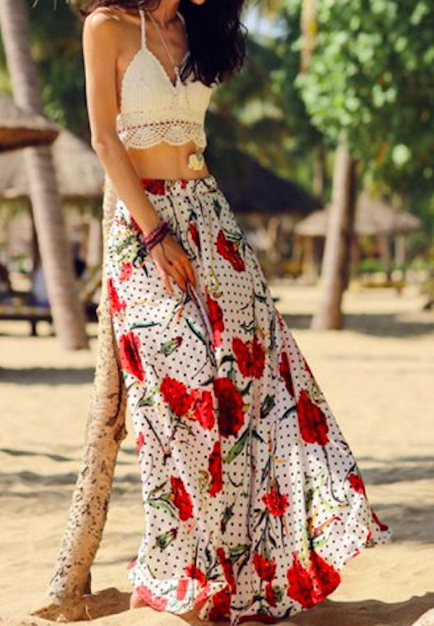 How To Wear Boho And Hippie Skirts 2019