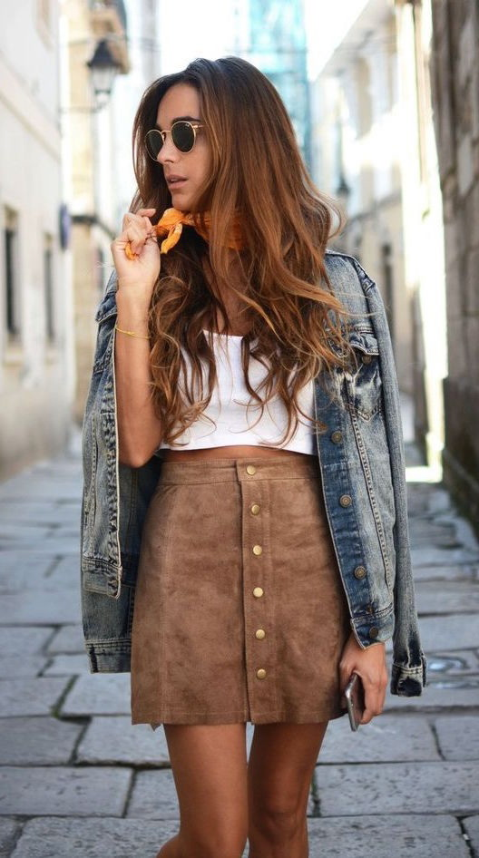How To Wear Mini Skirts - 15 Outfit Ideas 2017