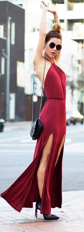 10 Ways To Wear A Red Dress 2021
