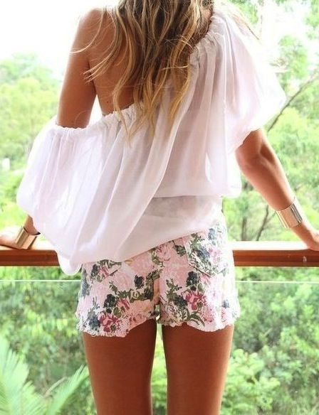 Summer Shorts Outfit Ideas 2019