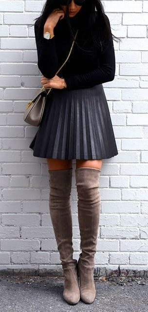 20 Ways To Wear Thigh High Boots 2020