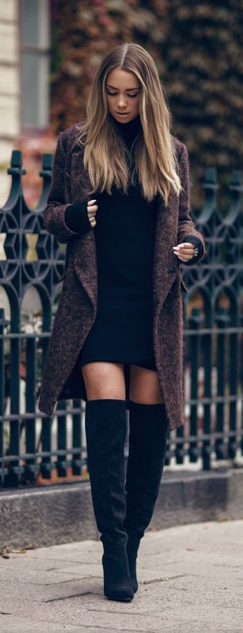 Winter Dresses And How To Wear Them 2018 | FashionTasty.com