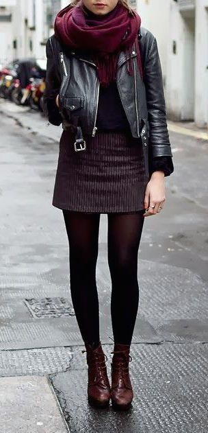 10 Cool Ways to Style a Leather Jacket 2019