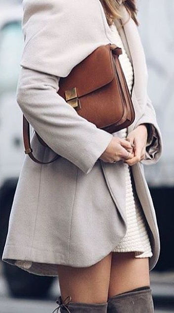 How To Pair Coats With Dresses 2019