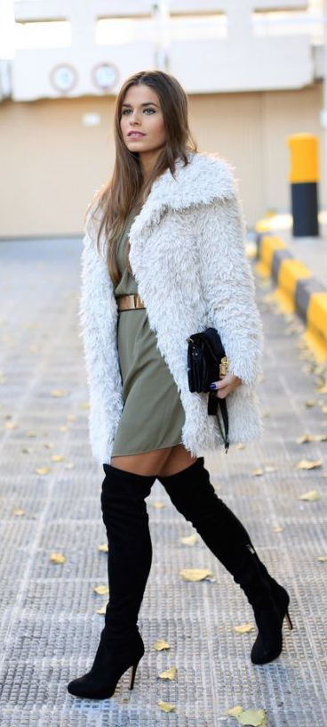 How To Pair Coats With Dresses 2017