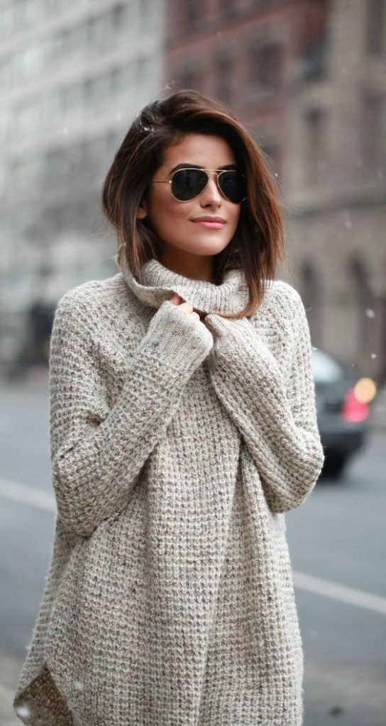 How To Wear A Knit Sweater Dress 2019