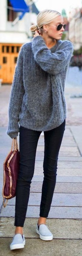 How To Wear A Slouchy Sweater 2019