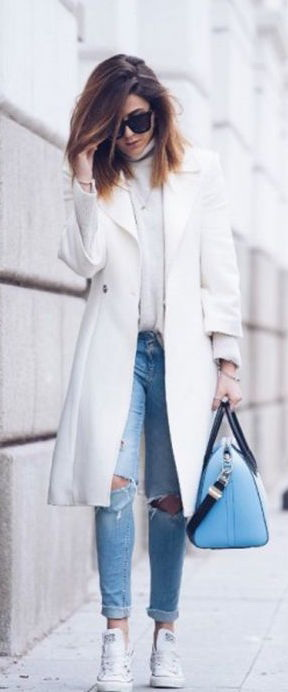 How To Wear A Coat With Jeans 2021