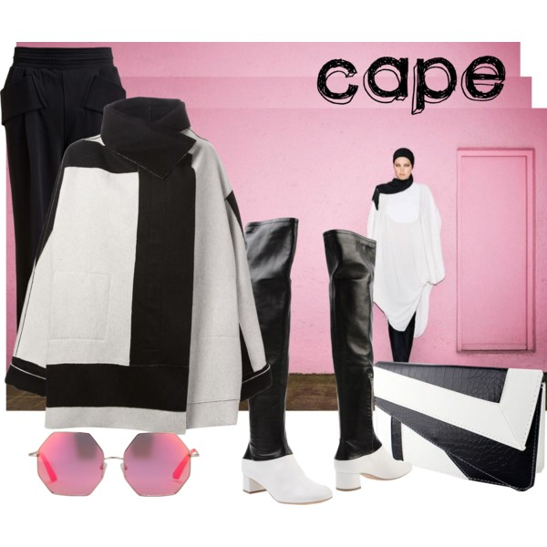 Women After 40 Outfit Ideas: Capes 2019
