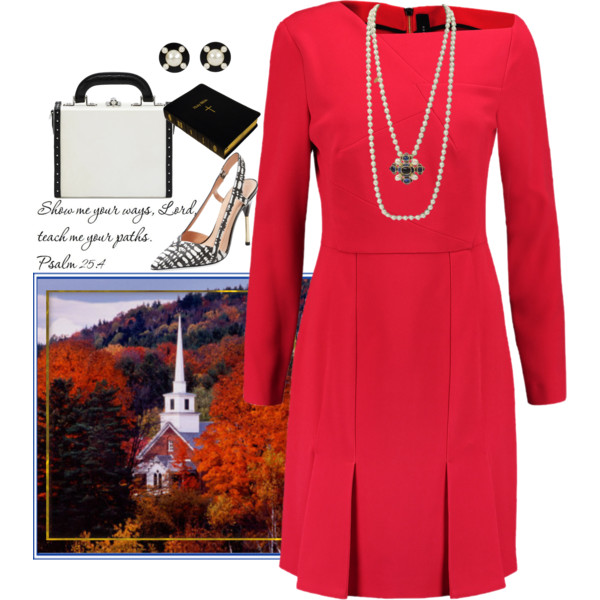Women After 60 Can Try Awesome Church Looks For Autumn 2017