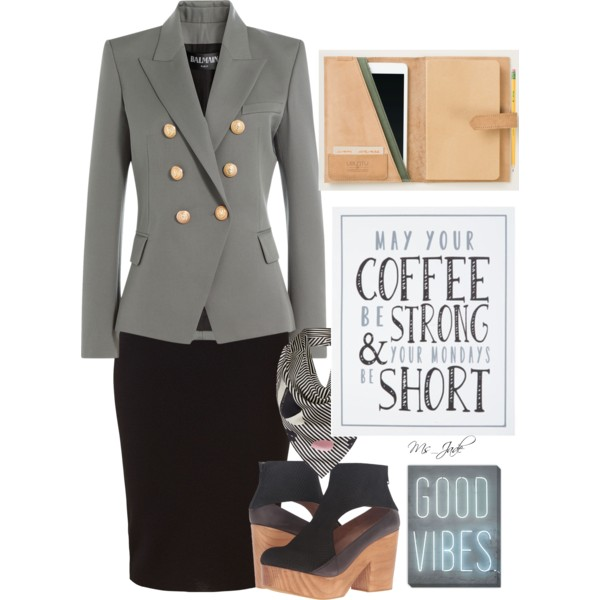 Women Over 50 Can Look Awesome In Fall Office Outfits 2017