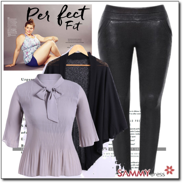Fashion Tips For Plus Size Women Over 50: Casual Style 2017