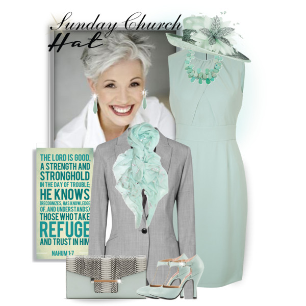 Women At The Age Of 50 Can Try Following Looks For Spring Church Services 2017