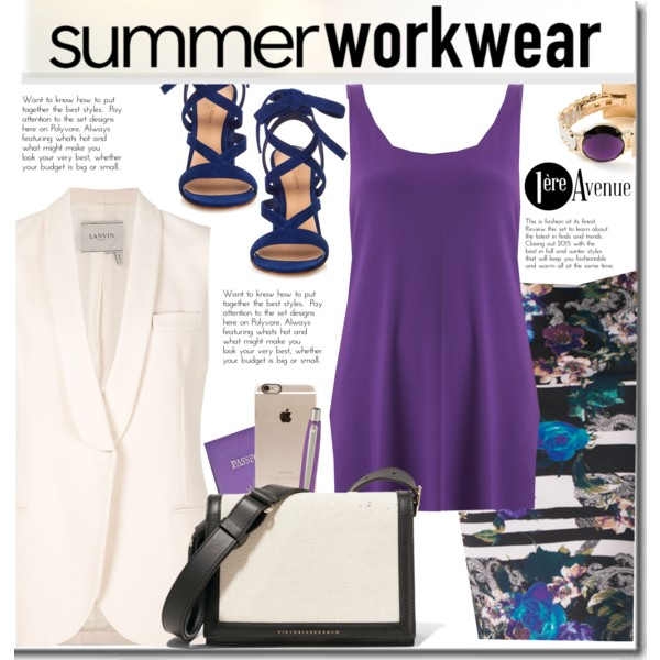 Women Over 30 Can Try These Summer Work Outfits 2021