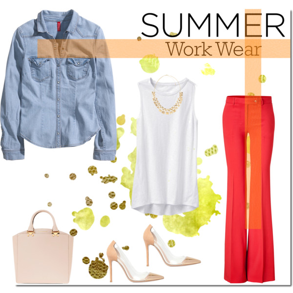 If You Are Lady In 40, Then I Advice To Try On These Summer Work Outfits 2017