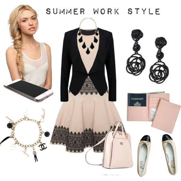 If You Are Lady In 40, Then I Advice To Try On These Summer Work Outfits 2019