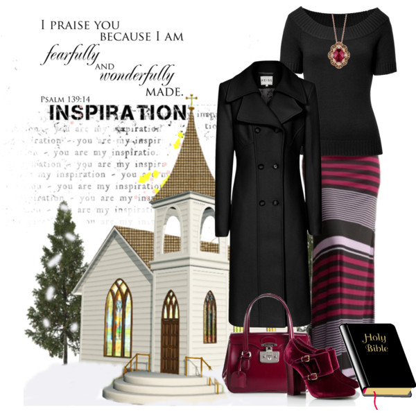 60 Old Women Church Style For Winter 2019