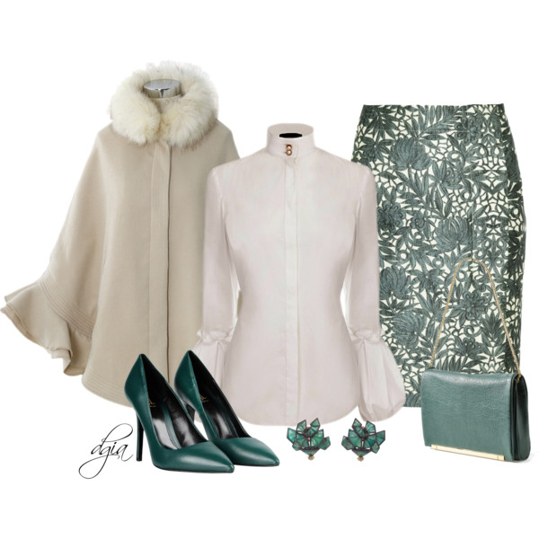 Women In 60: Pretty Sweet Formal Outfits For Winter 2017