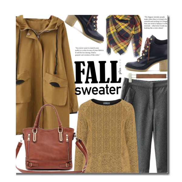 What Clothes Should Plus Size Ladies In 30 Wear During Fall Season 2017