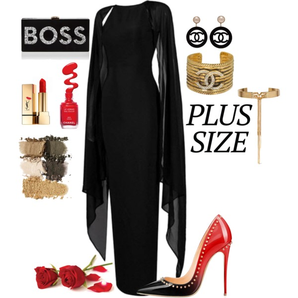 30 Old Women Look Awesome In These Plus Size Formal Outfits 2021