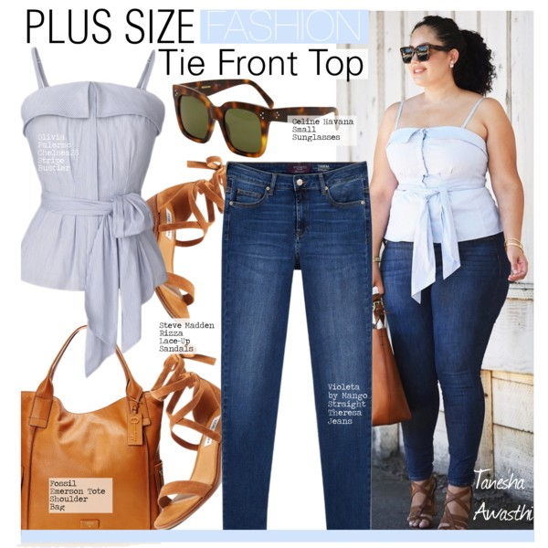 57d3aed143e Plus Size Women In 30 Can Wear These Looks During Summer Season 2019 ...