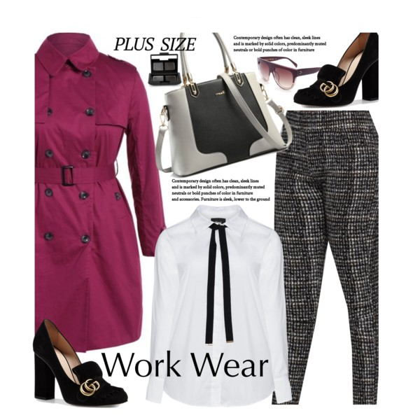 Plus Size Women Over 50 Style Tips: Office Looks 2020