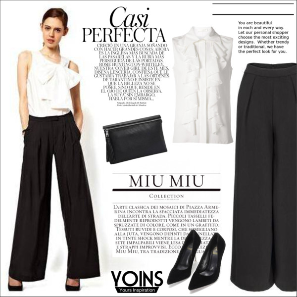 Women In 40 Can Look Great In Wide Leg Pants 2017
