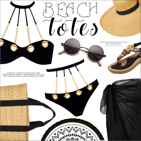 Beach Essentials: Black Bikinis 2017