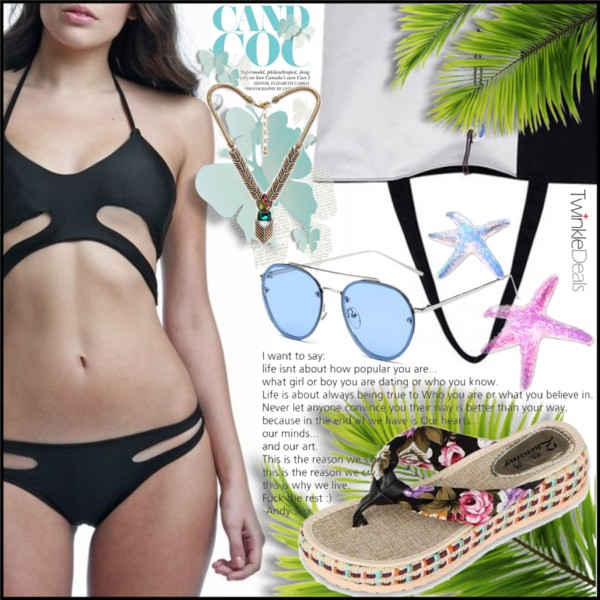 Beach Essentials: Black Bikinis 2020