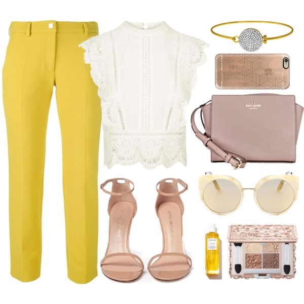 9 Ways To Wear Yellow Pants 2021