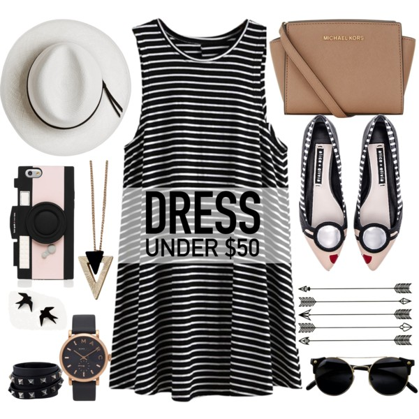 21 New Outfits With Striped Dresses 2020
