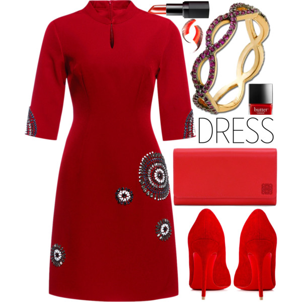 The Dos & Don'ts of Wearing Red Dresses 2019