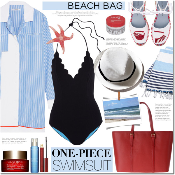 What To Wear With Black One Piece Swimsuits 2020