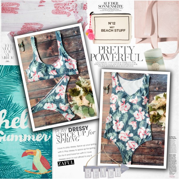 What To Wear With Floral Swimwear 2020
