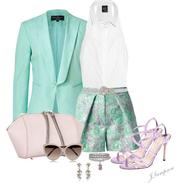 What Goes With Pastel Blazers 2019