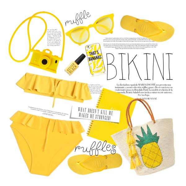 Yellow Swimwear: The Bright Side Of Summer Season 2021