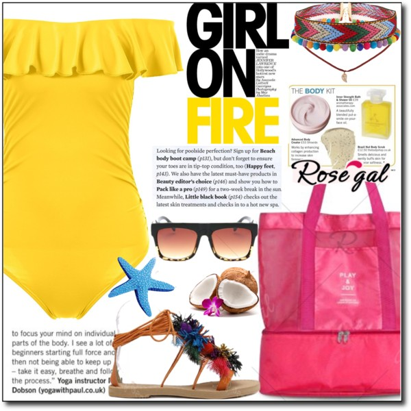 Yellow Swimwear: The Bright Side Of Summer Season 2020