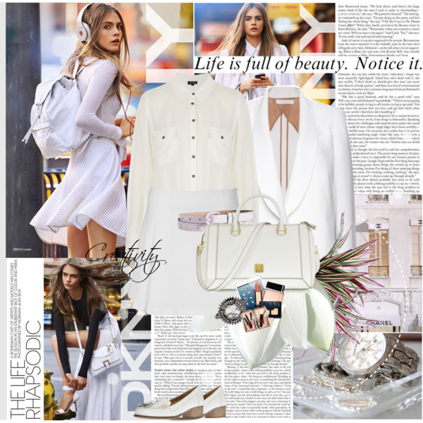 All White Outfits With Blazer For Women 2021