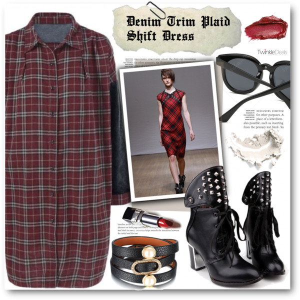 What To Wear With A Plaid Dress 2019